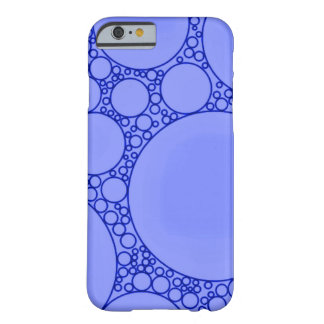 Blue Noise Abstract Barely There iPhone 6 Case