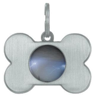 Blue Noise Pet Name Tag