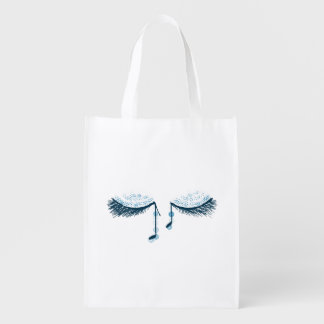 Blue notes market tote