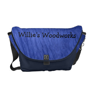 Blue Oak Bark Messenger Bag
