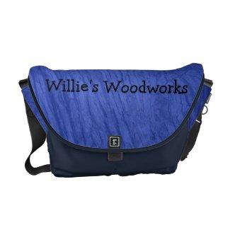 Blue Oak Bark Messenger Bag rickshawmessengerbag