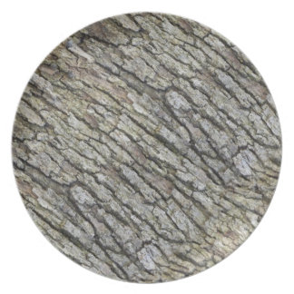 Blue Oak Bark Plate