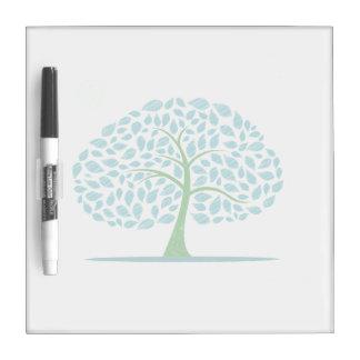 blue oak tree scribbled design.png dry erase board