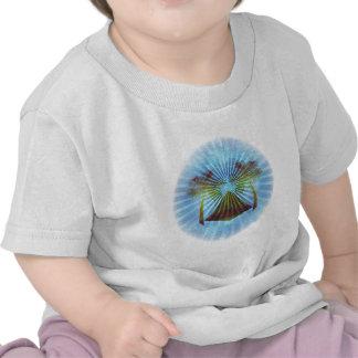 Blue Oasis Scene (Circle) T Shirts