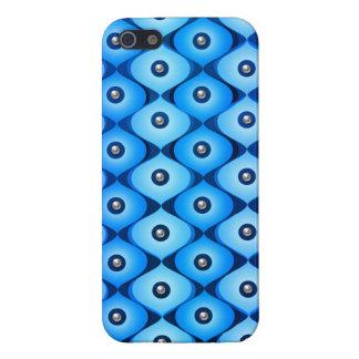 Blue oblong iPhone SE/5/5s case