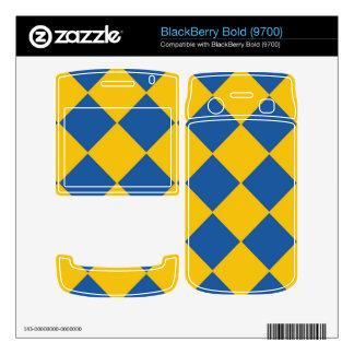 Blue Ocean and Gold Sand Diamonds Blackberry Bold  Skins For BlackBerry Bold