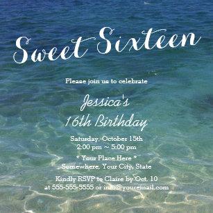ocean theme invitations zazzle
