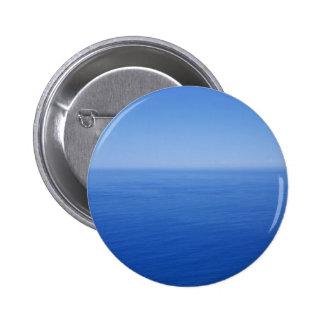 Blue Ocean 2 Inch Round Button