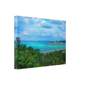 Blue Ocean Gallery Wrapped Canvas