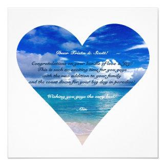Blue Ocean | Congratulations Card Semi-Gloss