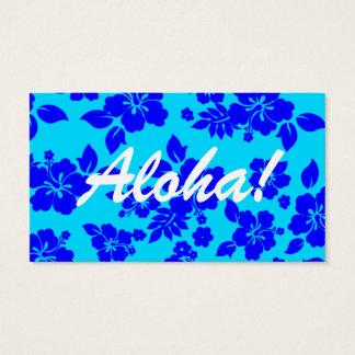 Blue Ocean Hawaiian Business Card