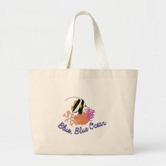 Blue Ocean Large Tote Bag