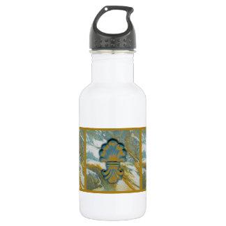 Blue Ocean Medallion 18oz Water Bottle