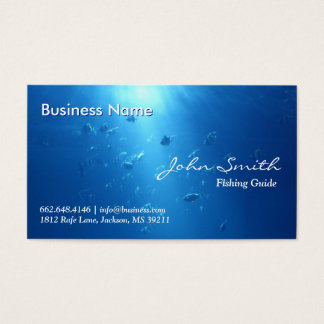Sport fishing business cards templates zazzle for Fishing business cards