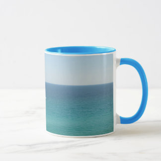 Blue ocean mug