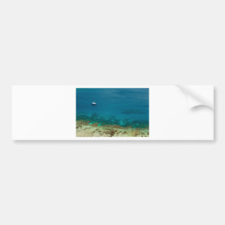 Blue ocean off Yasawas Island, Fiji Bumper Sticker