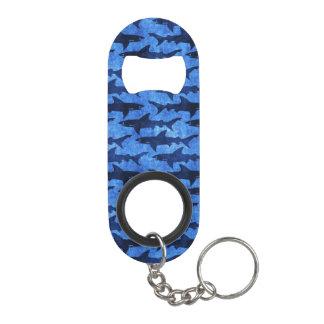 Blue Ocean Shark Attack Keychain Bottle Opener