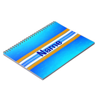 Blue Ocean Surfboard Notebook