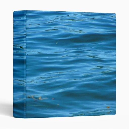 Blue Ocean Water 3 Ring Binders