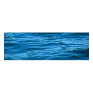 Blue Ocean Water Business Card