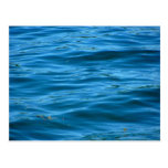 Blue Ocean Water Postcard