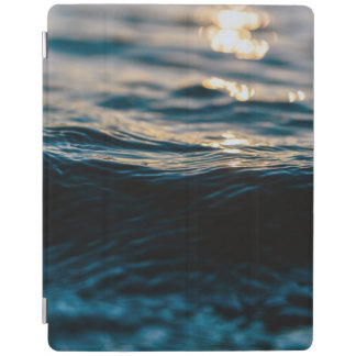 Blue Ocean Waves and Sunset iPad Smart Cover