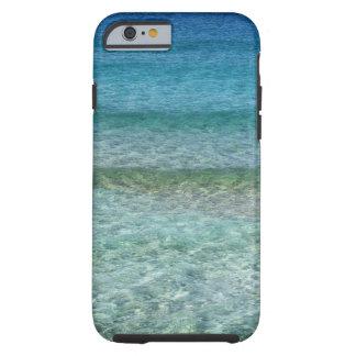 Blue Ocean Waves Tough iPhone 6 Case