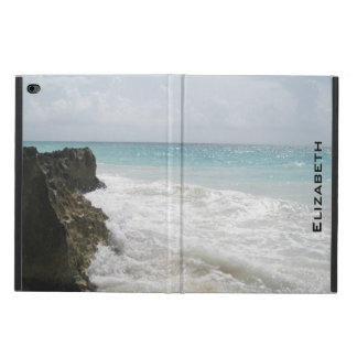 Blue Ocean with Foamy Waves Seascape Personalized Powis iPad Air 2 Case
