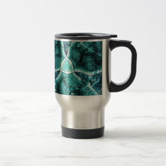 Blue Ocean with plenty of fish Travel Mug