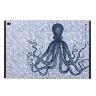 Blue Octopus Custom iPad Air 2 Case