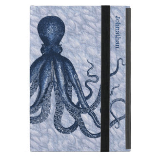 Blue Octopus Custom iPad Mini Case