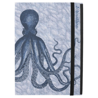 Blue Octopus Custom iPad Pro Case