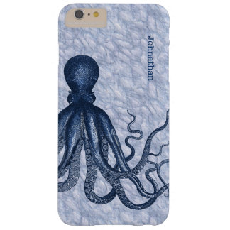 Blue Octopus iPhone 6 Plus Case