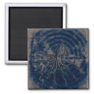 Blue Octopus Magnet
