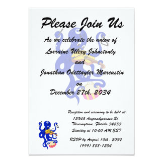 blue octopus playing multiple percussion.png 5x7 paper invitation card