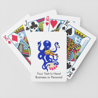 blue octopus playing multiple percussion.png card decks