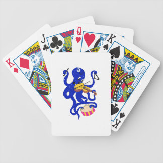 blue octopus playing multiple percussion.png bicycle card decks