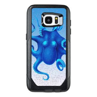 Blue Octopus Pop OtterBox Samsung Galaxy S7 Edge Case