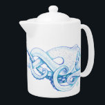 "Blue Octopus Teapot<br><div class=""desc"">""The Octopus"