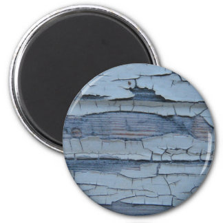 Blue old wood wall effect magnets