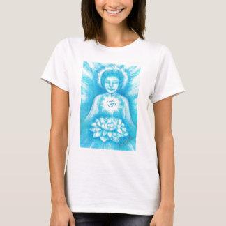 Blue Om Goddess of Peace Shirt