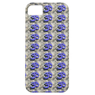 blue Om pattern case iPhone 5 Cases
