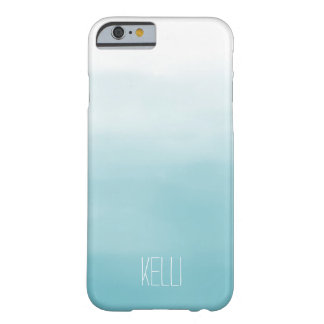 Blue Ombre Barely There iPhone 6 Case