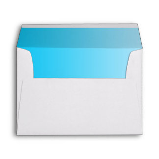 Blue Ombre Envelope