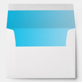 Blue Ombre Envelope