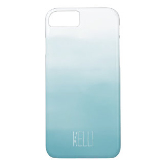 Blue Ombre iPhone 7 Case