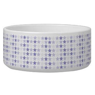 Blue Ombre Stars Bowl