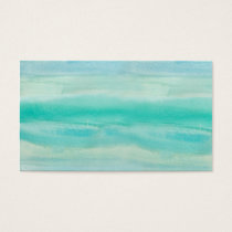 Blue Ombre Watercolor Wash Pattern