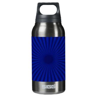 Blue on Blue Burst Insulated Water Bottle