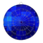 blue on blue collections dart board